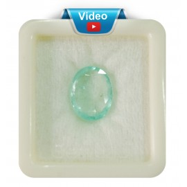 Natural  Emerald Panna Stone Sup-Pre 11+ 6.95ct