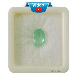 Natural  Emerald Gemstone Sup-Pre 4+ 2.75ct