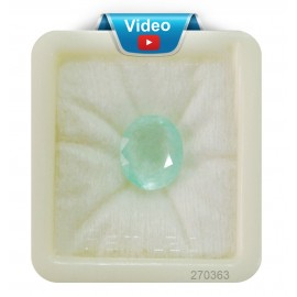 Natural  Emerald Panna Stone Sup-Pre 10+ 6.3ct