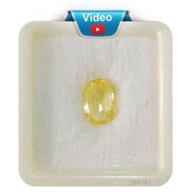 Yellow Sapphire Sup-Pre 5+ 3.4ct