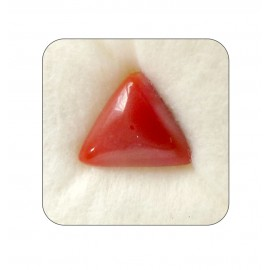 Certified Red Coral Premium 7+ 4.4ct