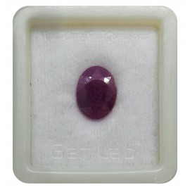 Natural Ruby Gemstone Premium 8+ 4.8ct